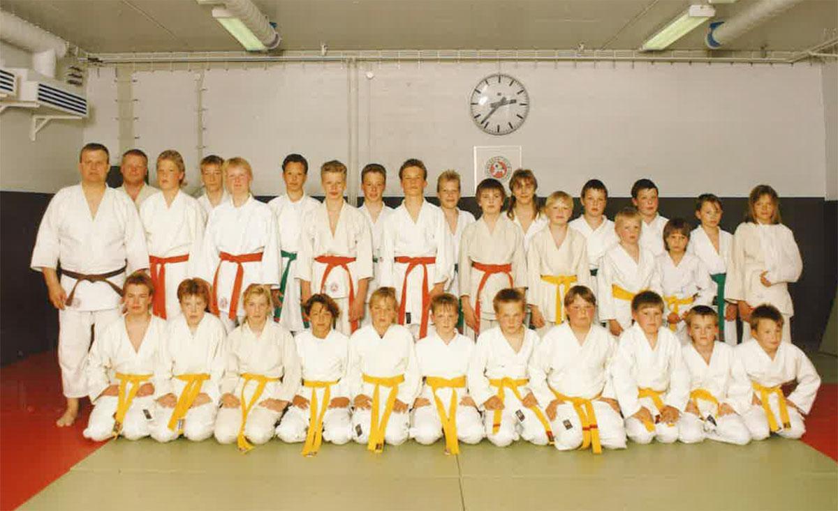 Judokurssi keväältä 1991