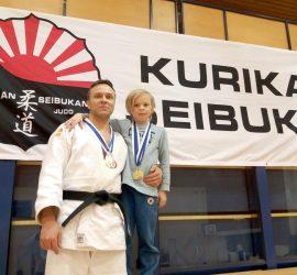 Judokat Marko ja Milo Hiltunen