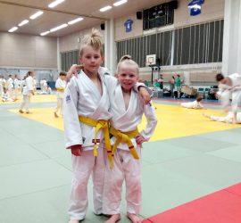 Veeti Salminen ja Milo Hiltunen Wekara-Shiai 26.5.2018