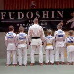 Ukilais-judokat kävivät Porissa hakemassa kilpailukokemusta.