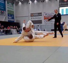 Marko Hiltunen heittänyt vastustajansa juuri ipponin arvoisesti