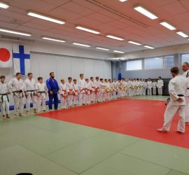 Maskun nuorille suunnnattu judoleiri 4.5.2019