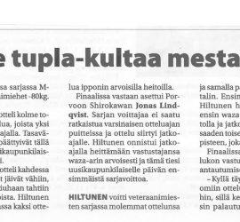 Etelä-Suomen avoimet aluemestaruuskilpailut, Porvoo 4.5